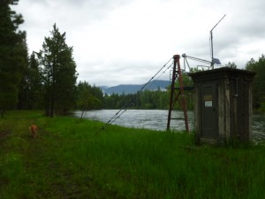 Gauging Station May 28